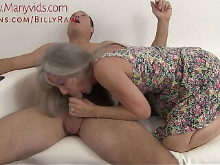 Granny Catches Grandson Obeying Porn-Leilani Lei