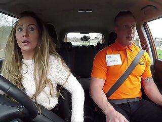 Fake Driving School - Rookie Instructor Fucks Swank MILF 1 - Swank Earth