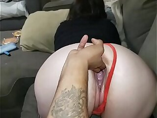 Pawg ResaBoo fucked together with gaped