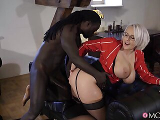 Mature XXX - Anal Hardcore Increased by Facial With respect to Chunky Hooters mammy 1 - Freddy Gong