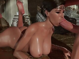 Hot 3d cartoon vixen crazy porn video
