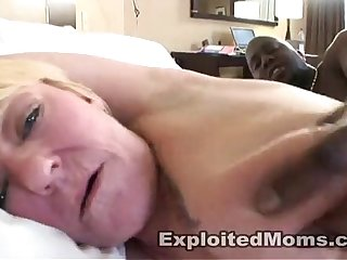 Blonde Amateur Mom gets Fucked Hard in Black Cock Video