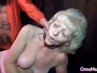 Granny Slave Whipped & Spanked