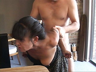 I Turned My Tiny Mexican Granny Maid Into an Anal Consequent