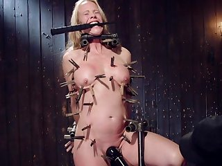 In the altogether busty matured hurt and dominated explicitly clamping BDSM
