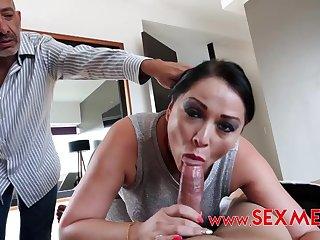 Latina mommy heart baulk porn scene