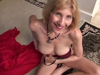 Anal sex addict granny wants double astuteness