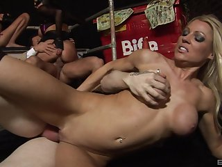 Orchestrate sex with handsome MILFs Jasmine Black and Antonia Deona