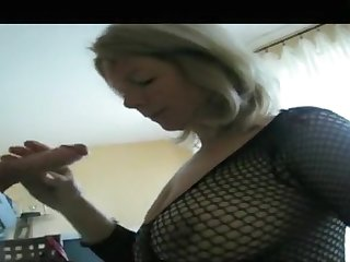 My massive tits look hot here my amateur blowjobs video