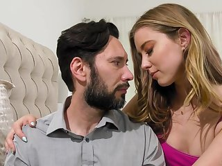 Haley Reed makes love with bearded stepfather