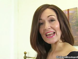 Mature women are like one another their hairy pussies up ahead of the camera, while masturbating like the clappers of hell