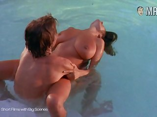 Large breasted celebrity enjoying some steamy intercourse by the pool