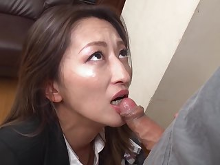 Fukiishi Rena A Prank Near The Lovely Milf Office Lady