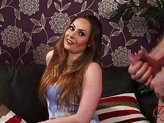 Video of a naked guy stroking his deterrent for chap-fallen Sophia Delane