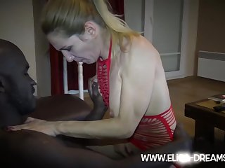 A Day With Red Laces Hot Wife