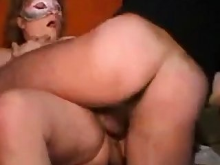 Adult Italian girl's threesome