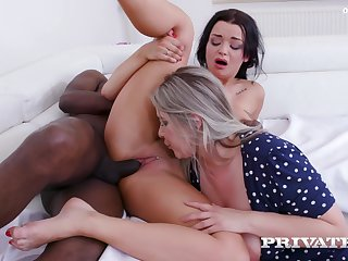 Private - Daphne Klyde And Nikky Dream Share A Lucky Stud