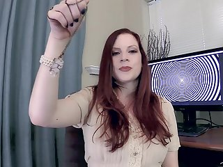 Redhead cougar Lass Fyre drops their way panties to have sex beside their way hubby